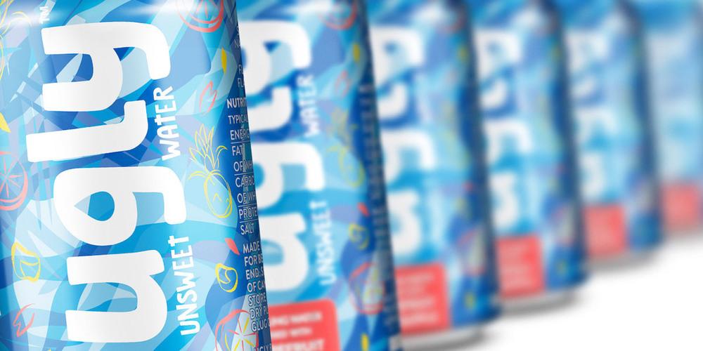 Ugly Water The Dieline Packaging Amp Branding Design