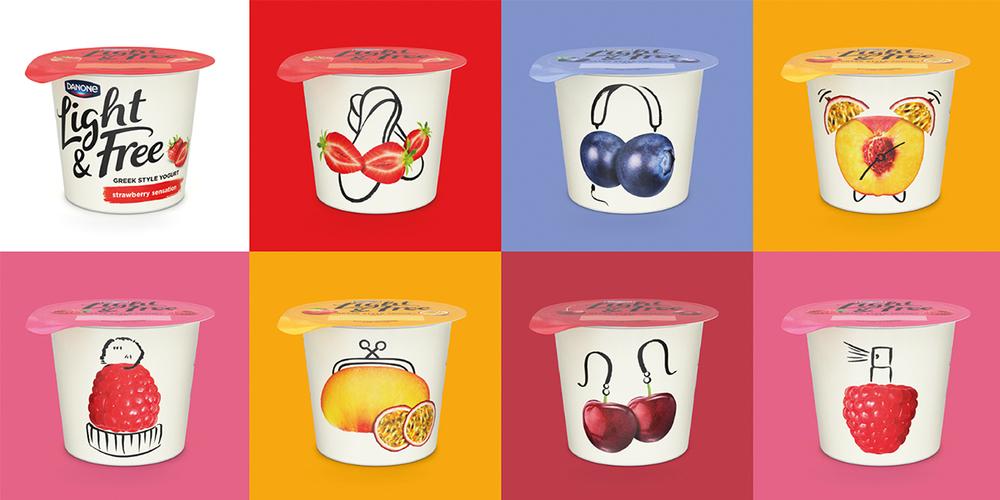 Light Amp Free The Dieline Packaging Amp Branding Design