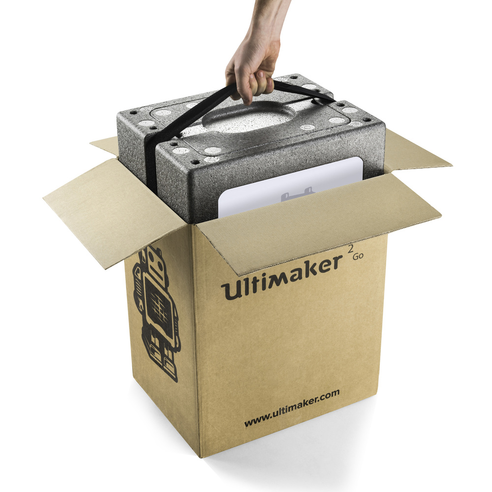 the dieline awards 2016 ultimaker 2 go packaging for the maker