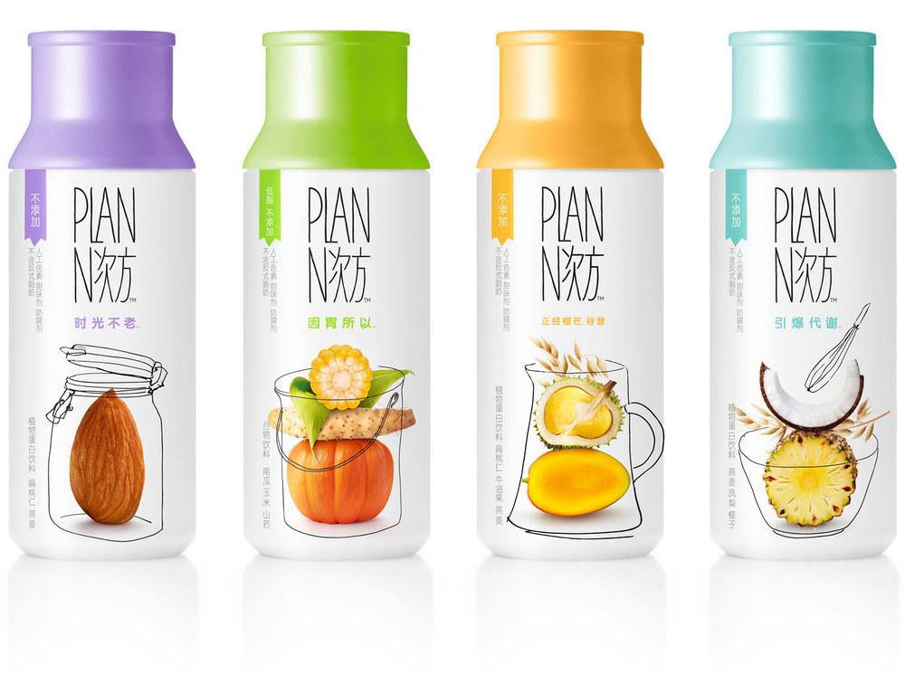 Plan N Cereal Shake The Dieline Branding Amp Packaging