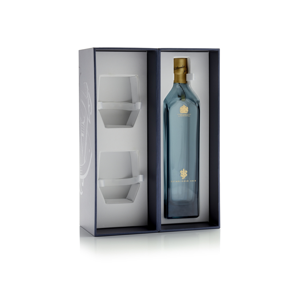 Johnnie Walker Blue Label The Dieline Packaging