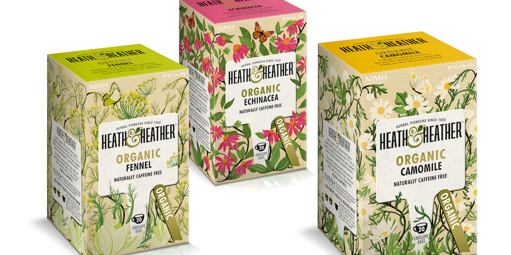 Heath Amp Heather The Dieline Packaging Amp Branding