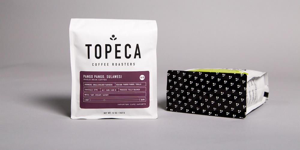Topeca Coffee Roasters The Dieline Packaging