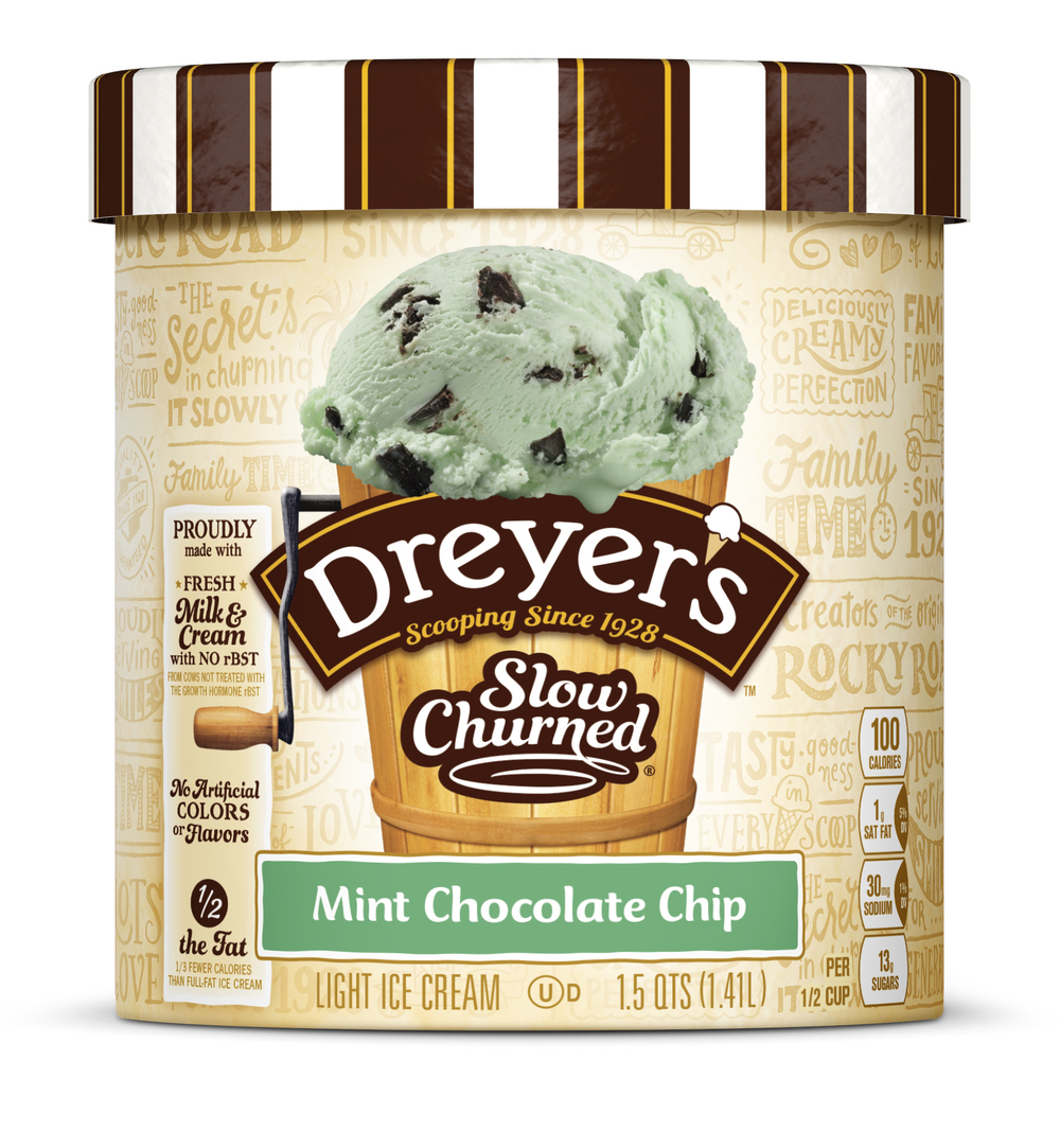 Dreyer's Ice Cream Redesign — The Dieline   Packaging & Branding Design & Innovation News