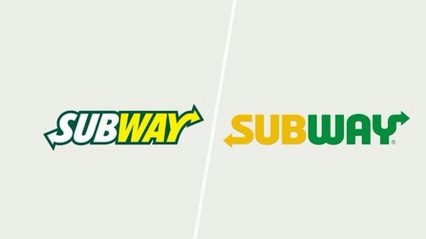subway logo redesign the dieline packaging branding design