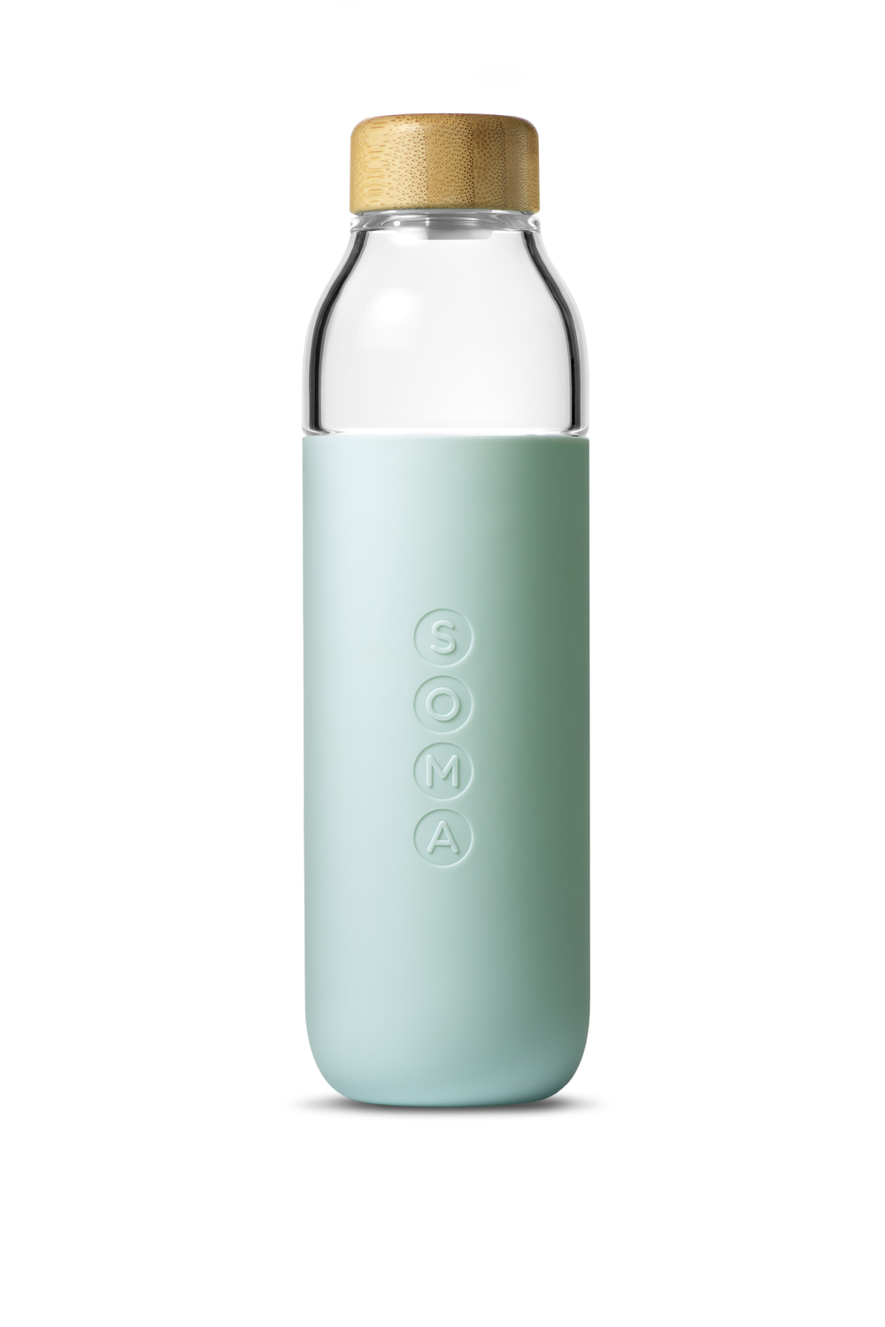 Soma Glass Water Bottle — The Dieline