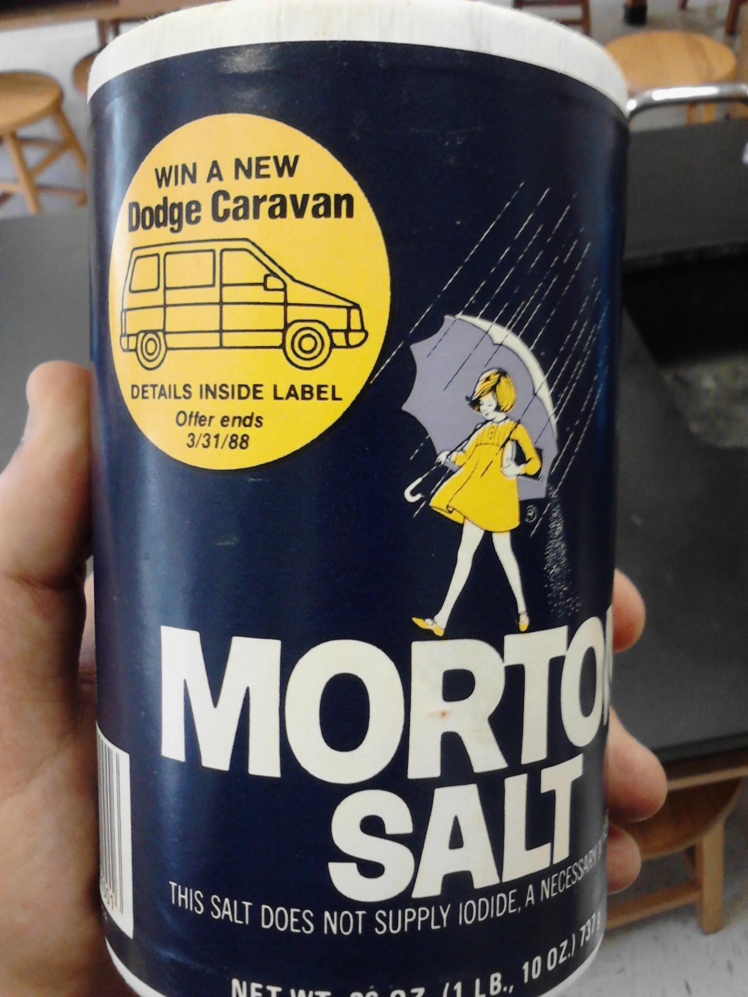 Morton's Salt