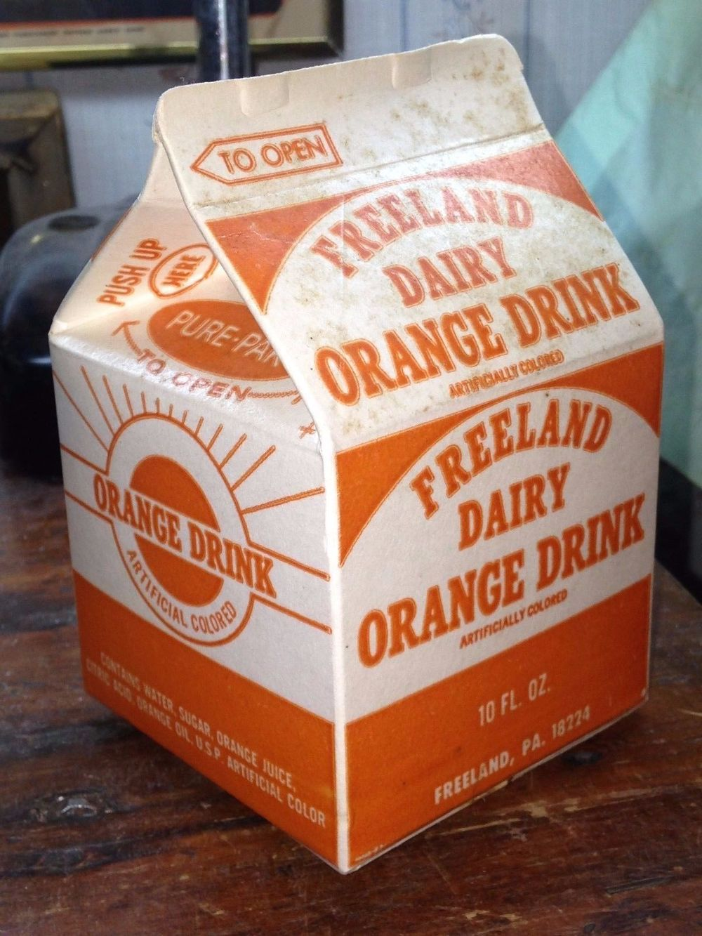 Freeland Dairy Orange Drink