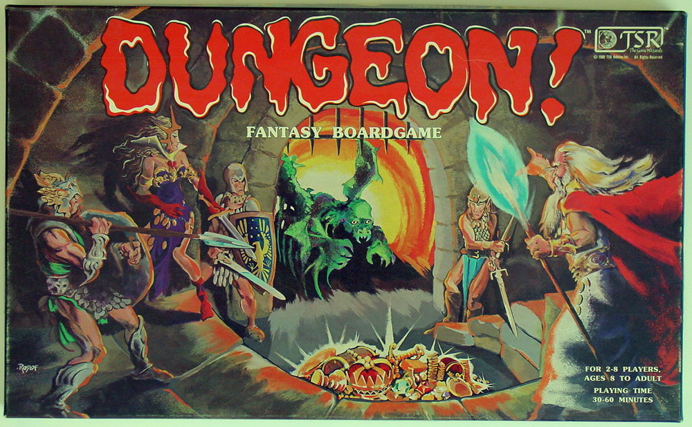 Dungeon! Fantasy Boardgame