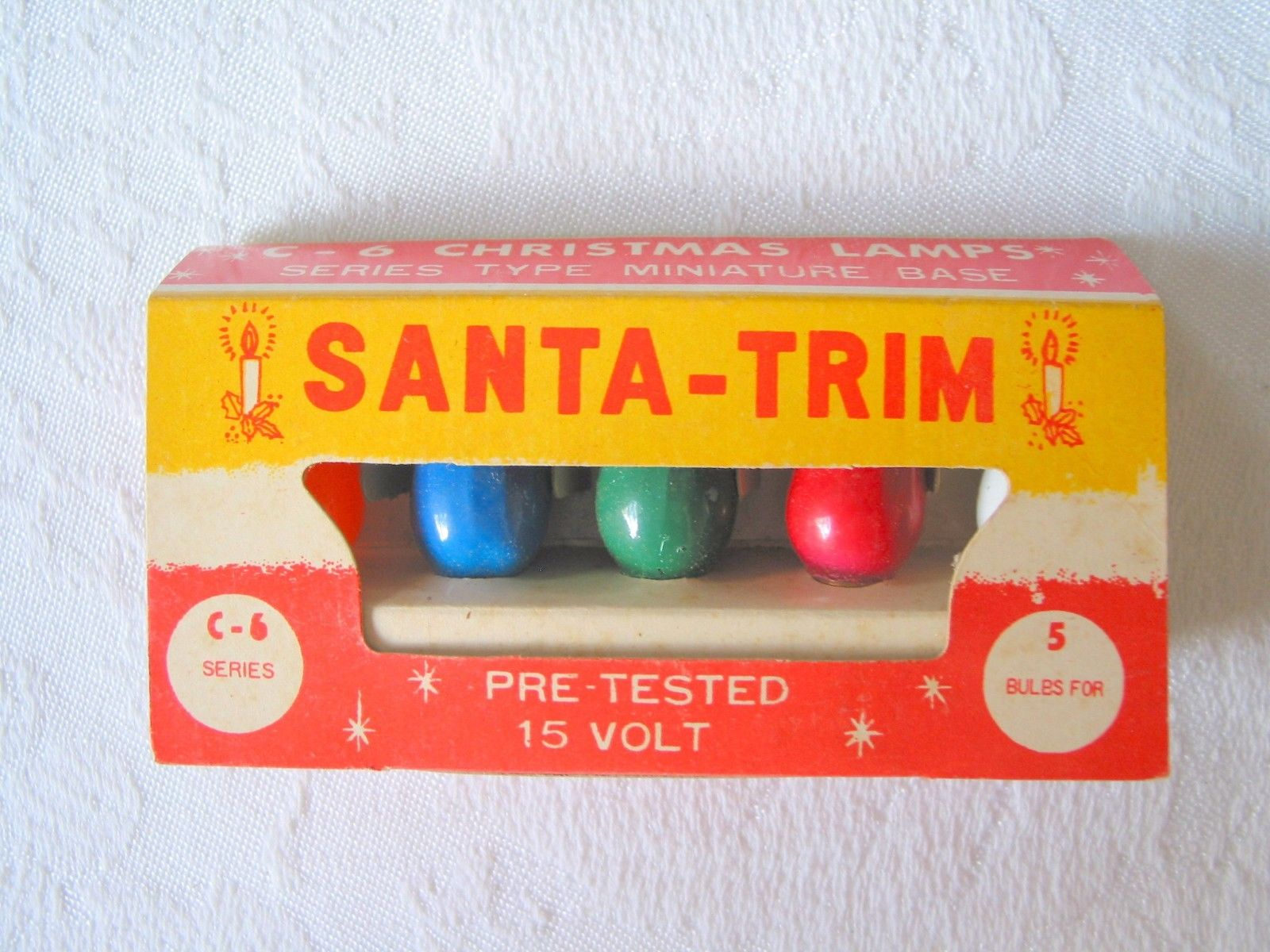 Santa-Trim Christmas Lights