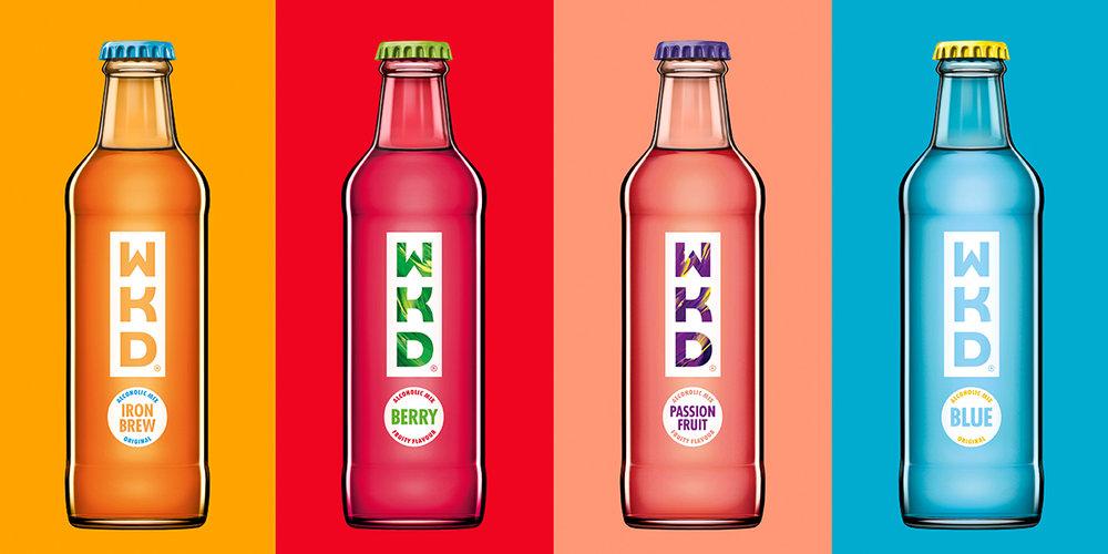 Jkr Reinvents Brand Identity For Wkd The Dieline