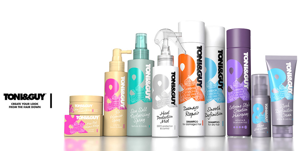 toni and guy hair styling products toni amp goes bold with revamped brand design the 5739 | 1473304553086