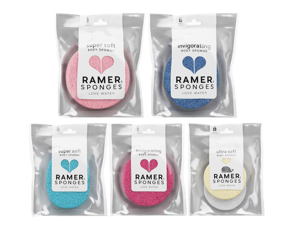 Ramer Sponges The Dieline Branding Amp Packaging Design