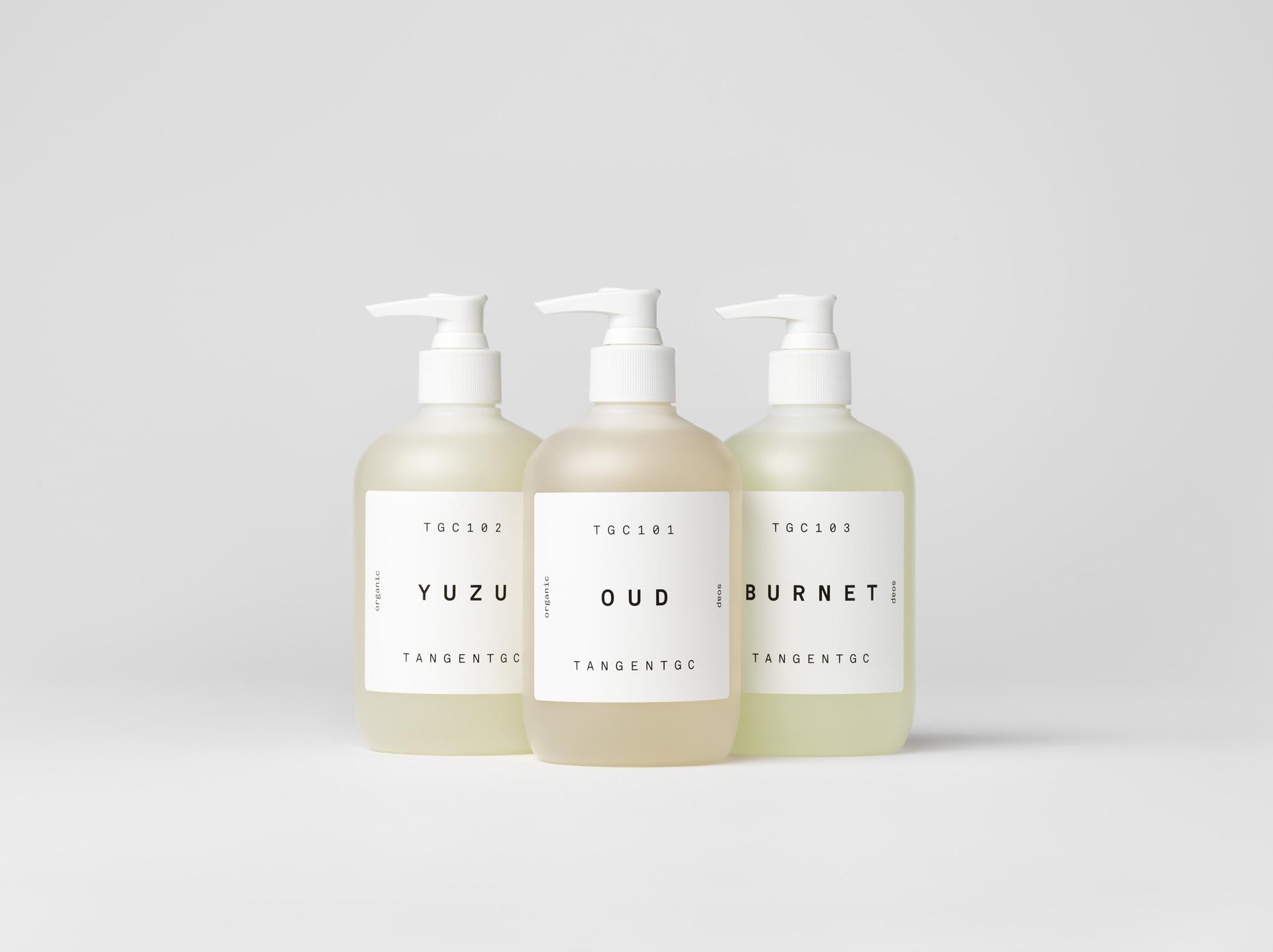 Tangent Gc Organic Soaps The Dieline Branding