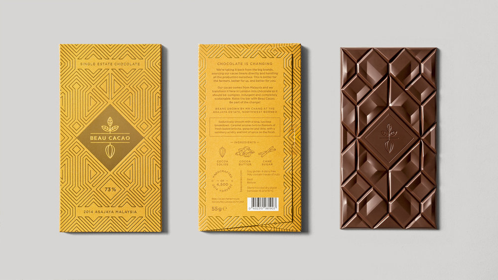 35 Chocolate Packaging Designs — The Dieline | Packaging ...