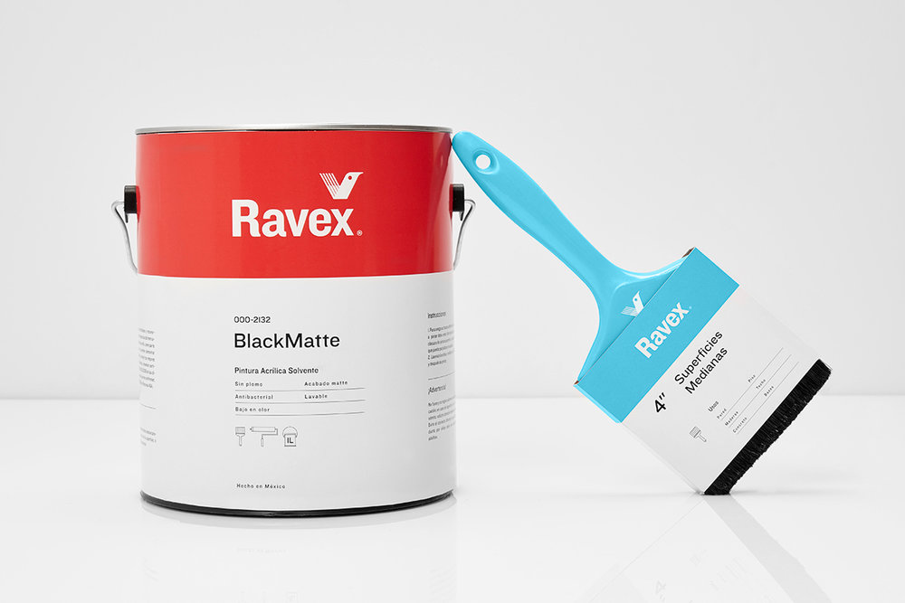This is a modern and fresh take on industrial paint the for Industrial design packaging