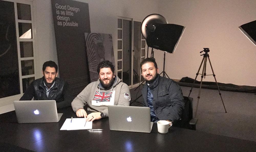 Alep studio Founders Yanal Wattar -Mohammad wattar- Mahmod nasser .jpg