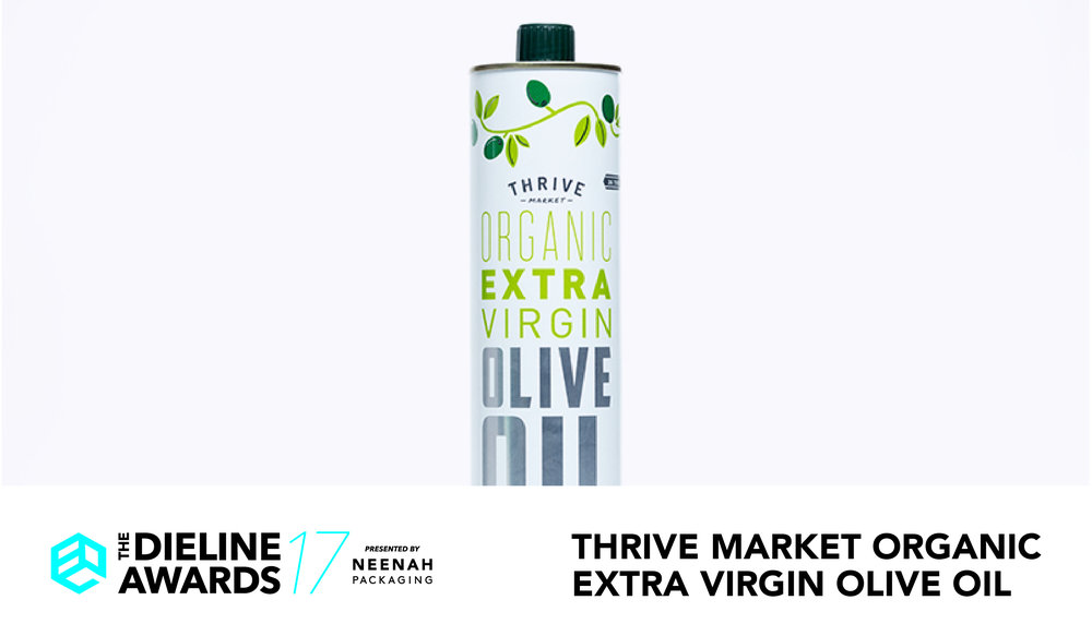 Menu For Olive Garden: The Dieline Awards 2017 Outstanding Achievements: Thrive