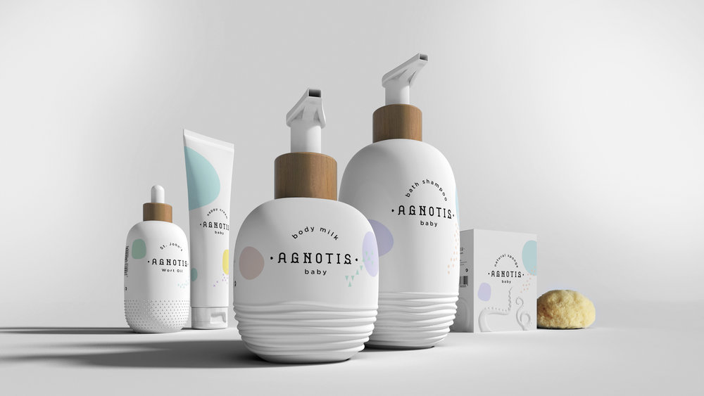 This Baby Care Line Is All About The Texture — The Dieline ...