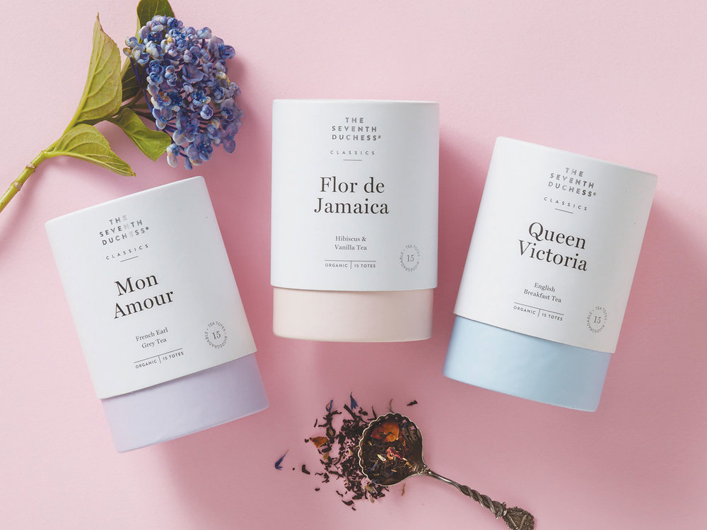 Elegant Tea Brand The Seventh Duchess Gets A Subtle