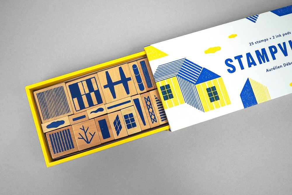 Be Your Own Architect and Designer With Stampville — The Dieline ...
