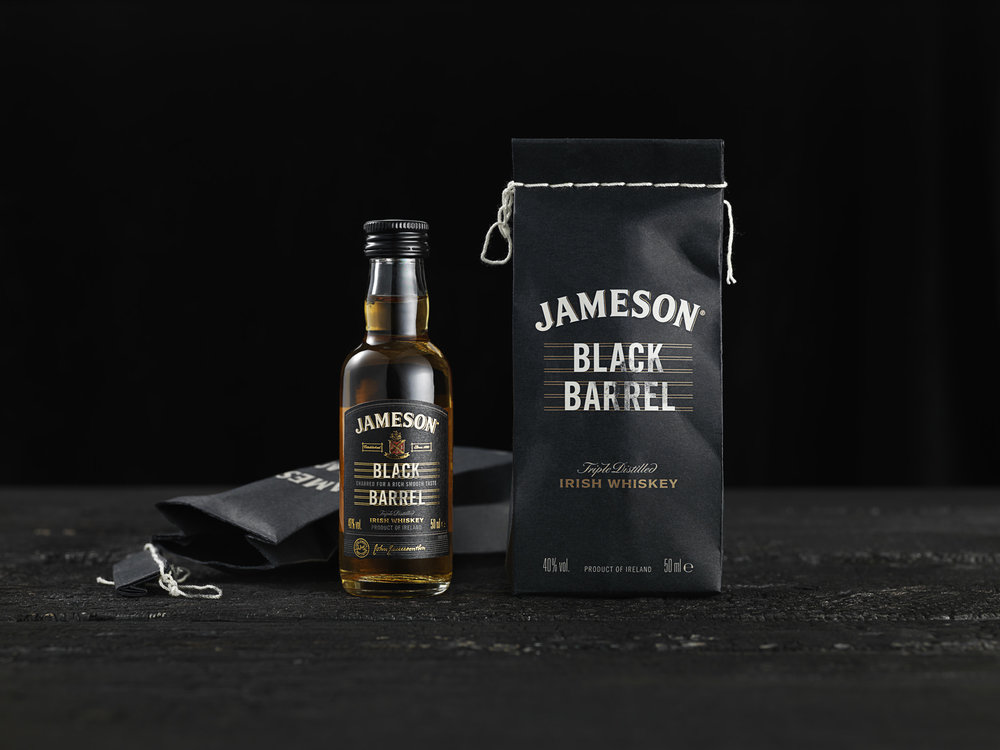 Jameson Black Barrel Is a Tribute To An Old Distillery Method