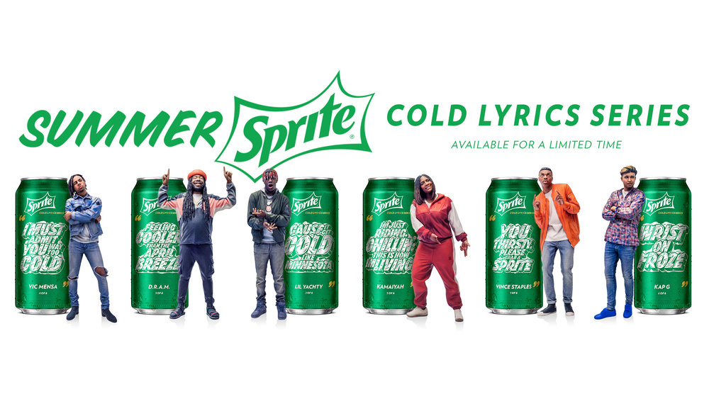 Summer Sprite Cold Lyrics Series