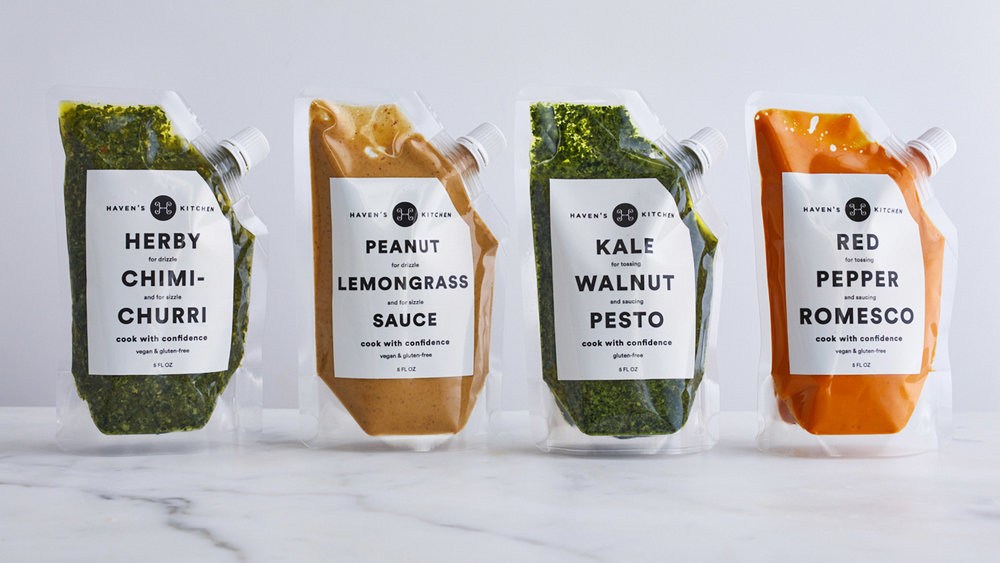 Functional Yet Futuristic Packaging Makes Haven's Kitchen ...
