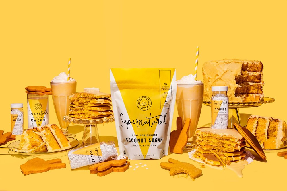 Supernatural\'s Plant-Based Baking Products Come With a Sunny Look ...