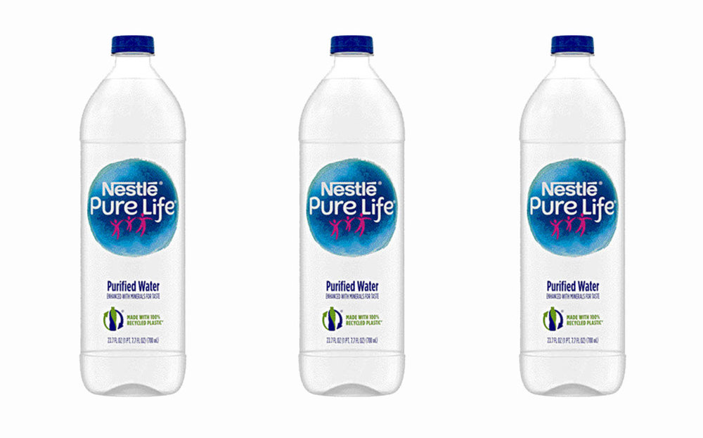 nestle promotes change in sustainability with new 100 recycled