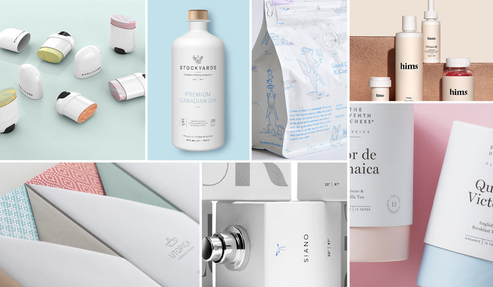 Trend Product Design: The Dieline's 2018 Trend Report: Neutral Is The New Luxury