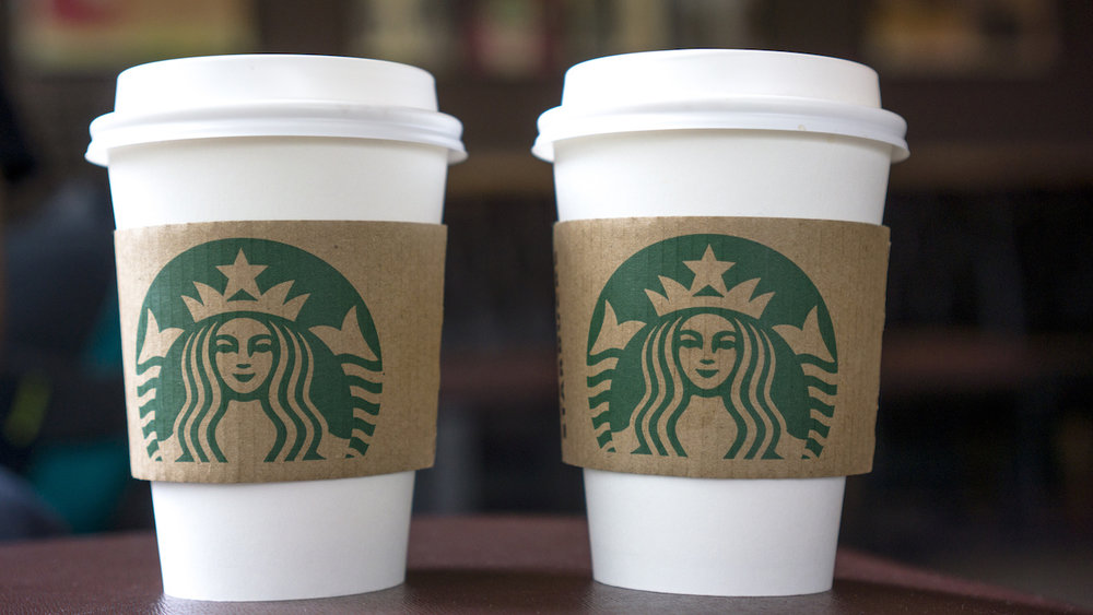 a cancer warning on your starbucks cup maybe so the dieline