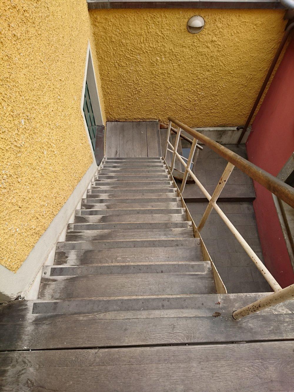 Ingo Maurer test stairs.JPG