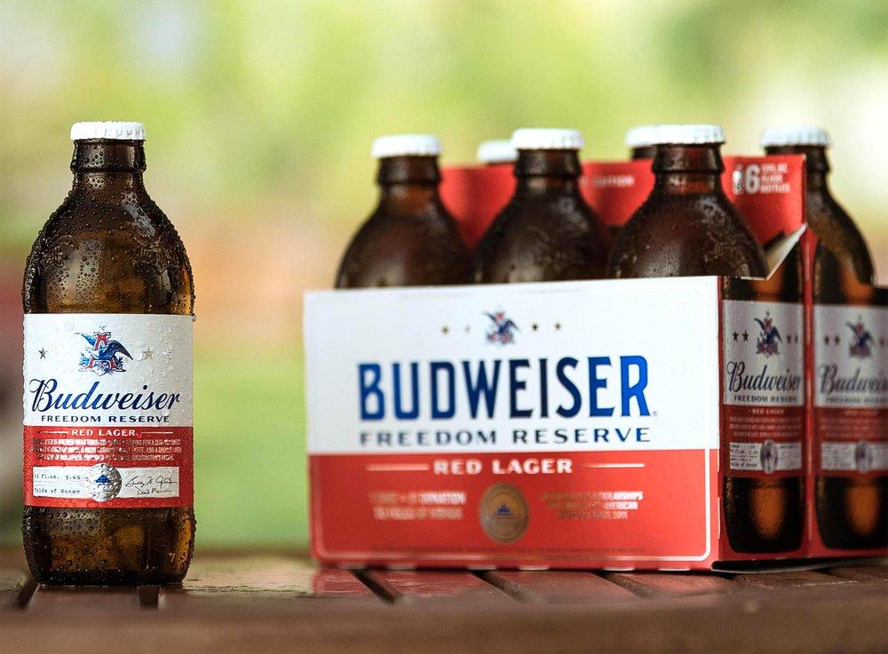 Budweiser Freedom Reserve CR: Chris Bradley/Budweiser