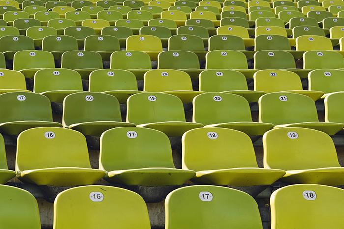 Stadiontribne, Mnchen, Deutschland