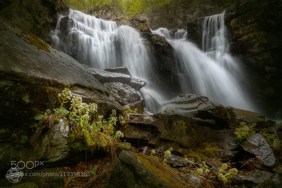 Dardagna Falls - The power of Water