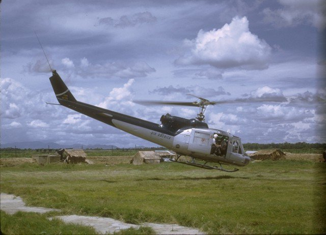 Bell UH-1H Huey Helicopter.