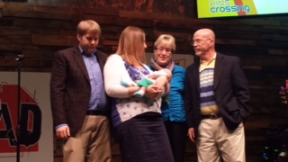 May 11th Dedication for Mackenzie Lynn. Her life verse is Mark 11:22-24