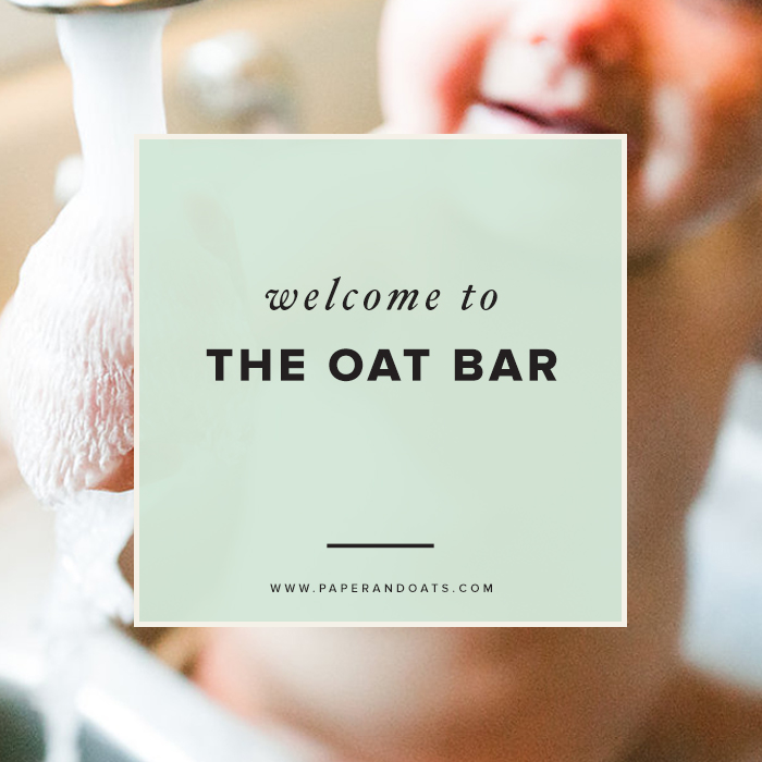 The Oat Bar Blog by Paper + Oats