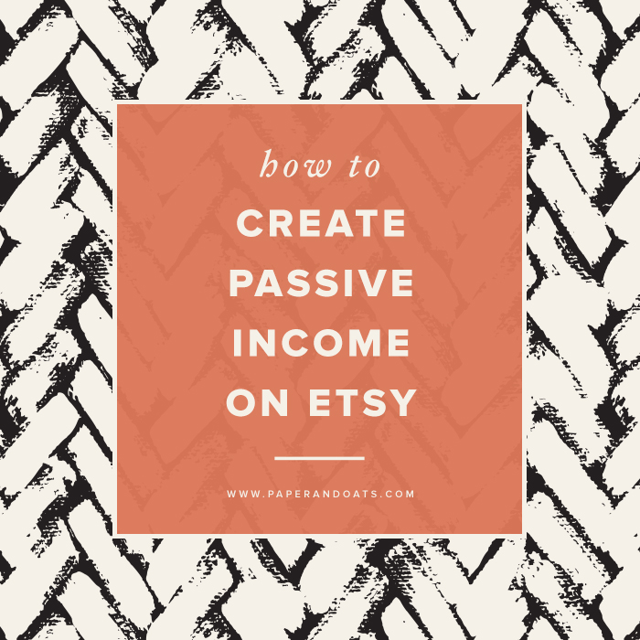 How to create passive income on Etsy