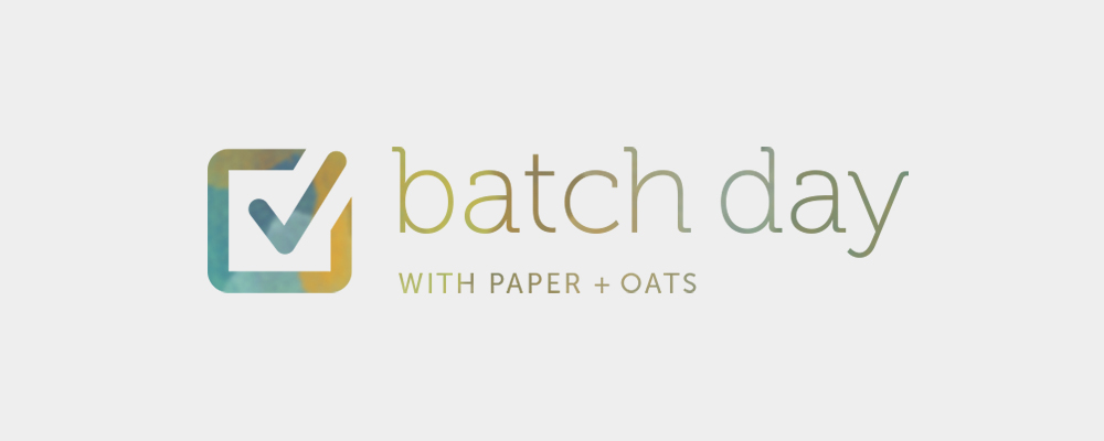 Paper + Oats – A little peek behind my business branding