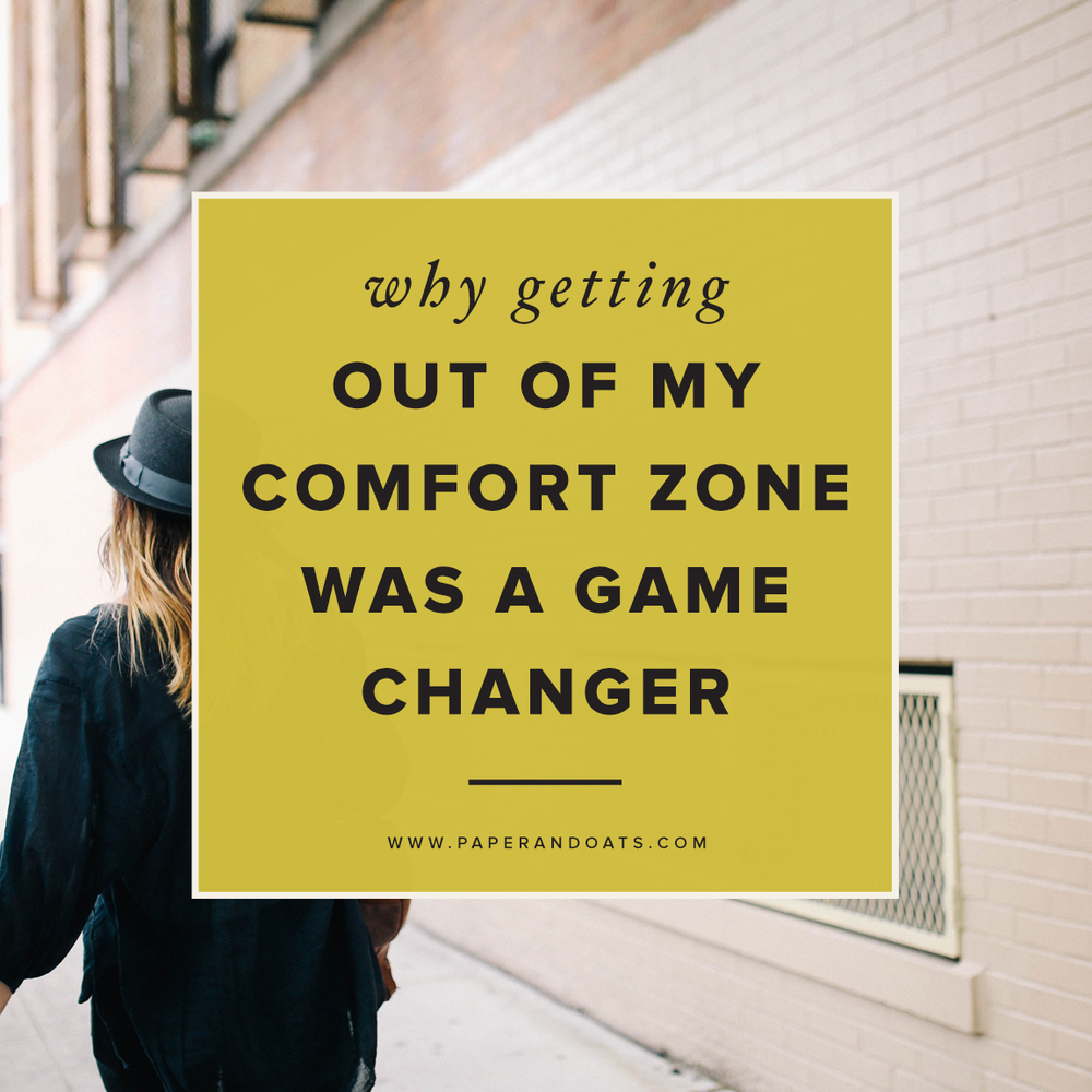 Paper + Oats – Why getting out of my comfort zone was a game changer