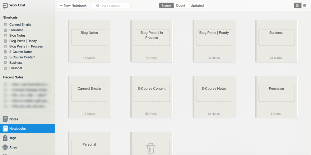 How I use Evernote to organize my business — Paper + Oats