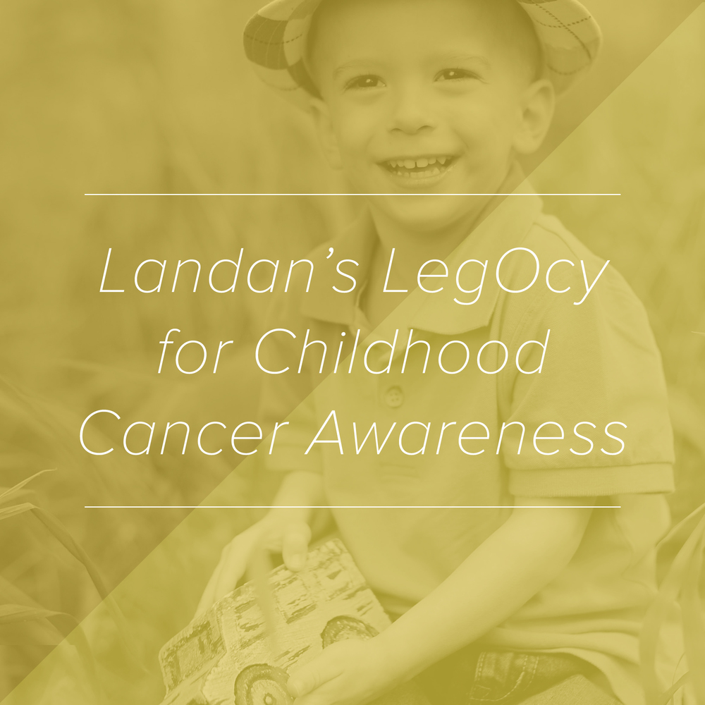 Paper + Oats Gives Back to Landan's LegOcy for Childhood Cancer Awareness