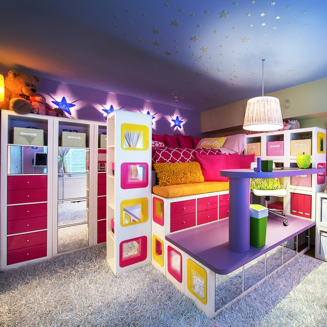 a custom children's room -