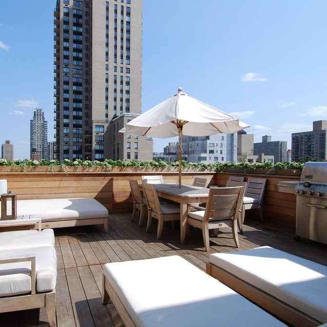 a penthouse on park avenue & 85th -