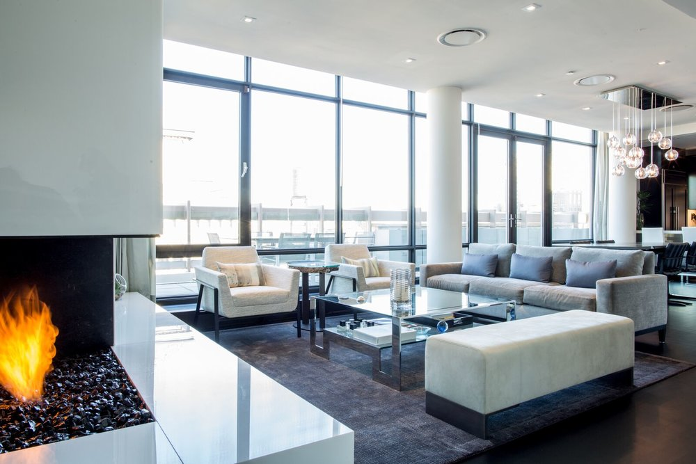 UPPER WEST SIDE PENTHOUSE -