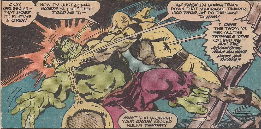 Hulk provides play-by-play for all his fights