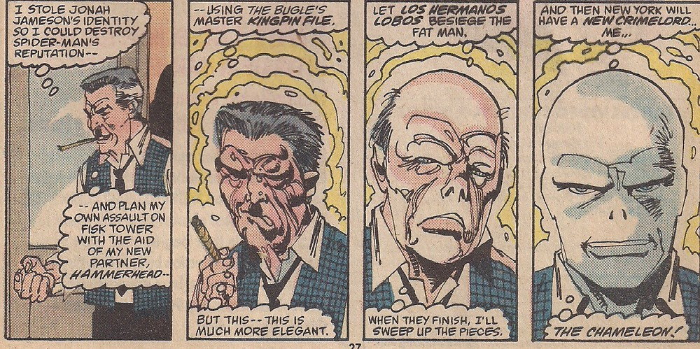 Gotta love a dramatic monologue in thought bubbles.