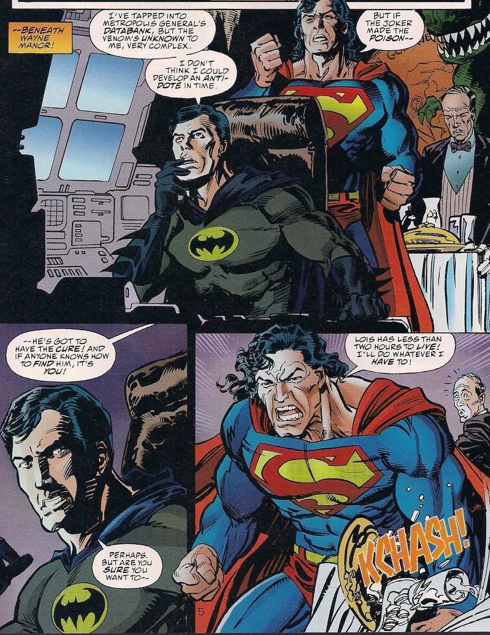"""As they say, """"You don't tug on Superman's Cape"""""""